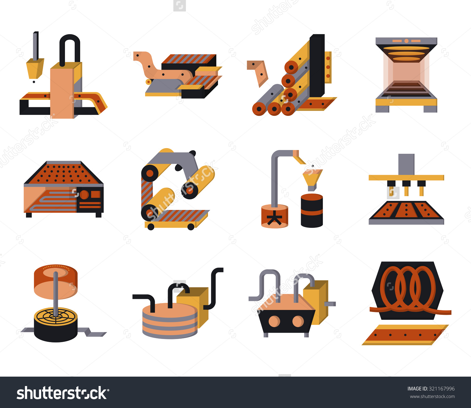 Food Processing Clipart.