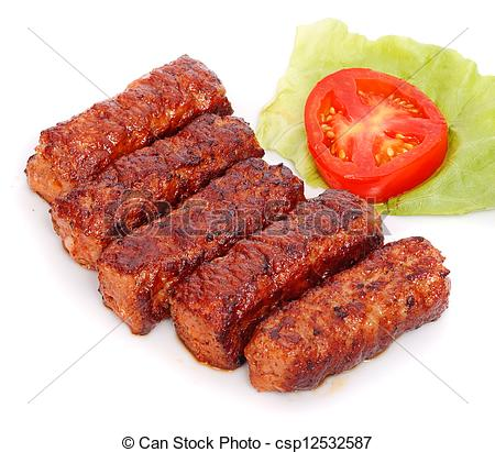 Pictures of Grilled romanian meat rolls.