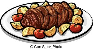 Meatloaf Clipart Vector and Illustration. 100 Meatloaf clip art.