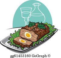 Meatloaf Clip Art.
