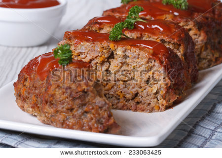 Meatloaf Stock Images, Royalty.