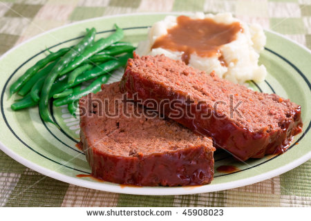 Meat Loaf Stock Photos, Royalty.