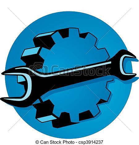 Vectors Illustration of engineering mechanics csp3914237.