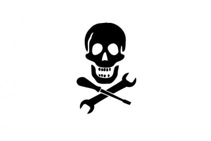 Mechanic Pirate clip art clip arts, free clipart.