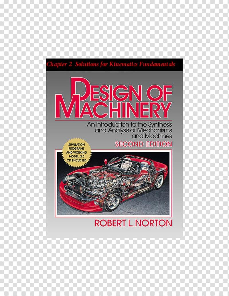 Design of Machinery Car Hardcover Magazine Book, car.