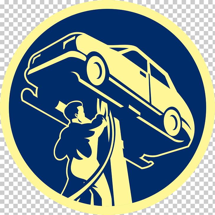 Auto mecánico automotriz taller de reparación de automóviles.