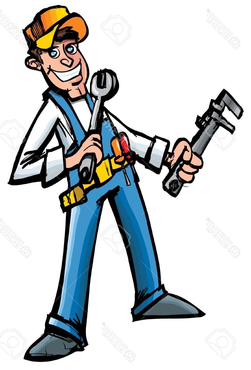 Best Free Cartoon Mechanic Clip Art Photos » Free Vector Art.