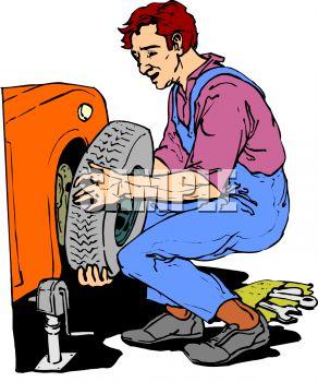 Clip art mechanic.