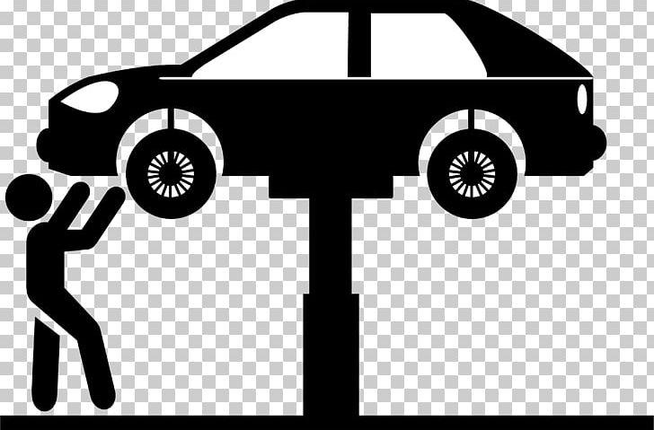 Car Automobile Repair Shop Auto Mechanic Maintenance PNG.