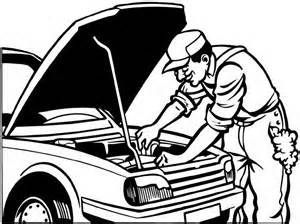 Auto mechanic clipart black and white 4 » Clipart Portal.