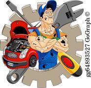 Mechanic Clip Art.