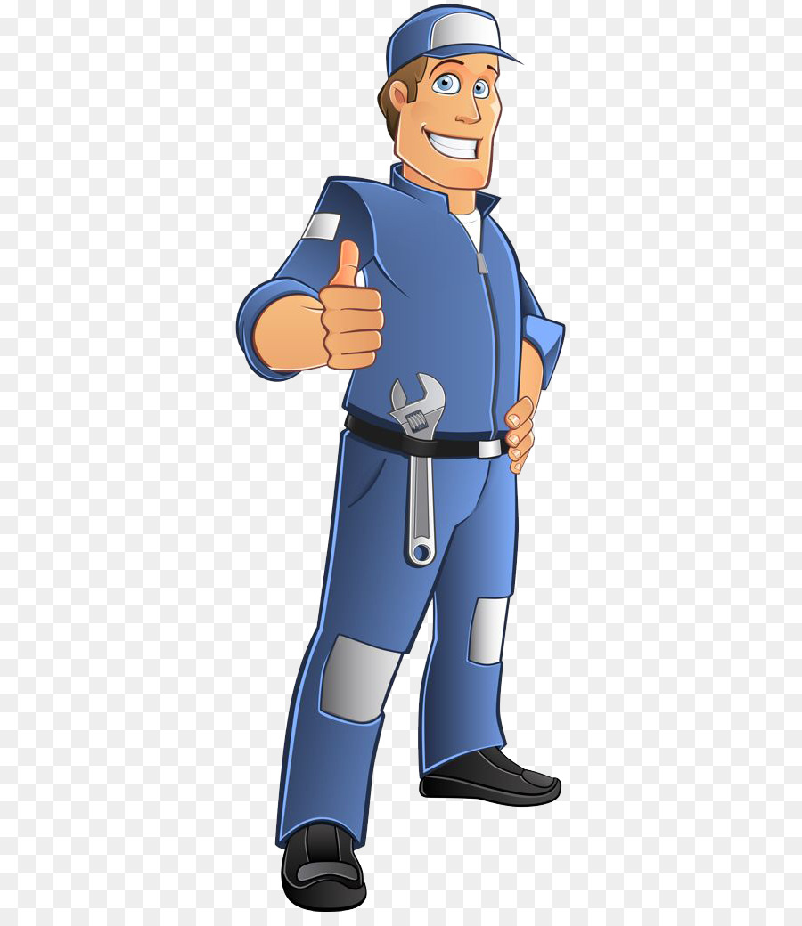 Mechanic Cartoon png download.