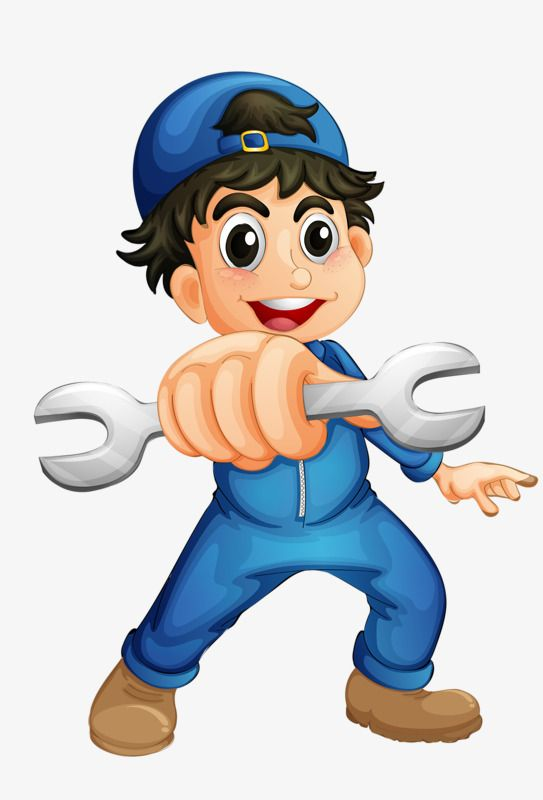 Mechanic Boy, Boy Clipart, Boy, Repairman PNG Transparent.