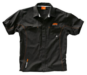 Details about NEW KTM MECHANIC SHIRT HEAVY DUTY LOGO WORK SHIRT $60.00 NOW  $44.99 SIZE SMALL.