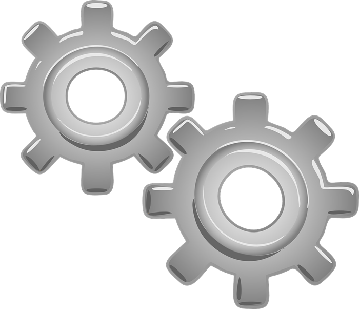 Free to Use & Public Domain Gears Clip Art.