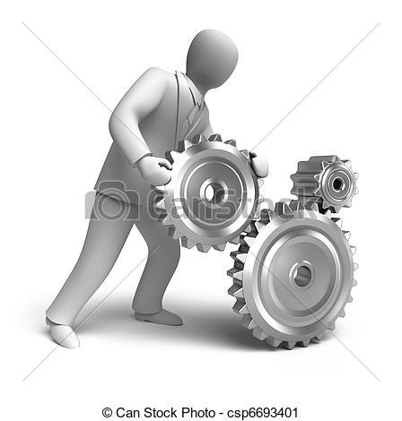Mechanical engineering logos clip art.