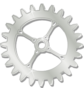 Mechanical Gear Clipart.