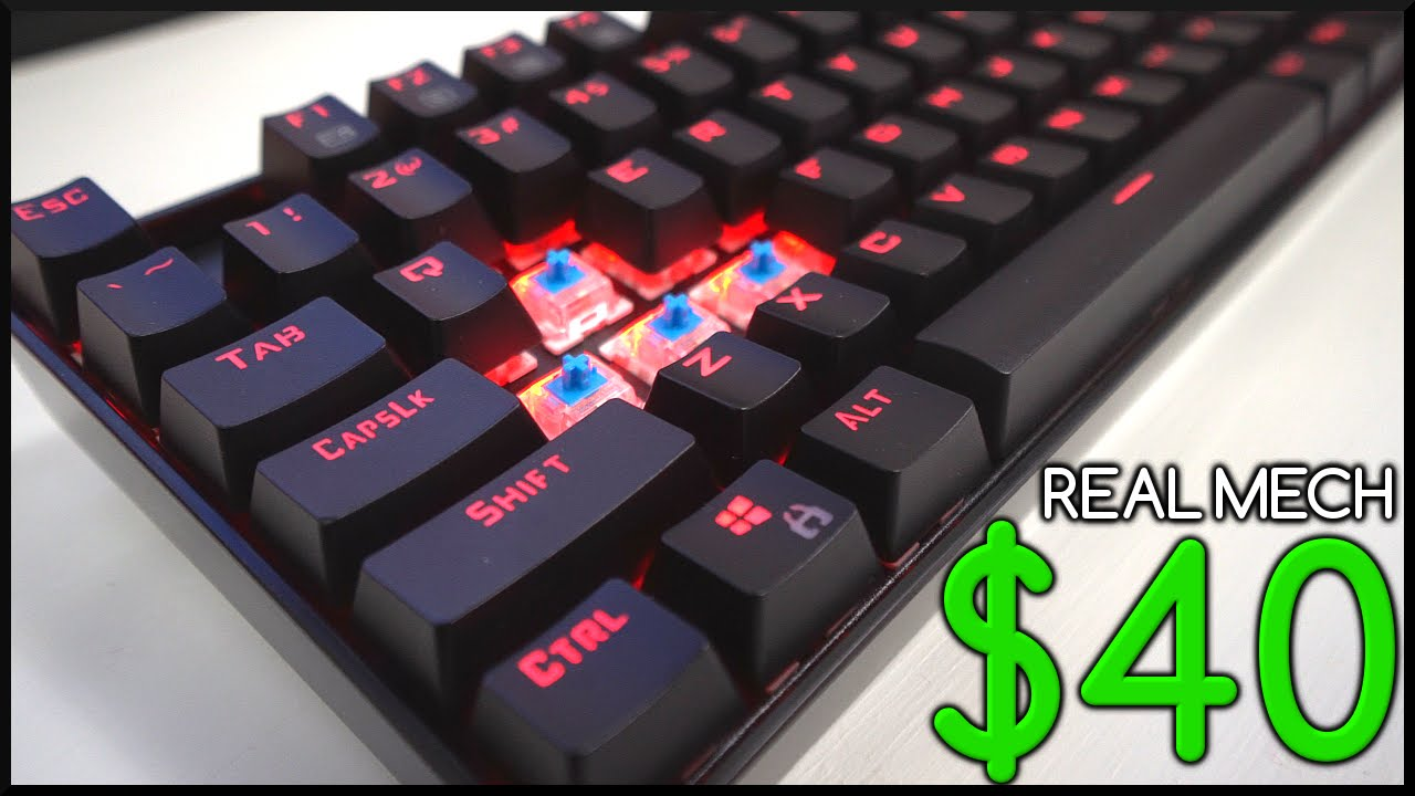 REAL Mechanical Keyboard for $40!.