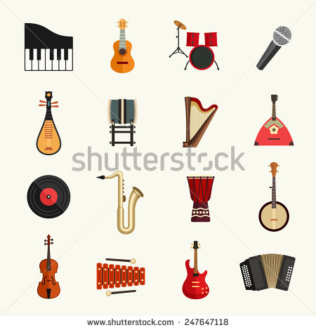 Musical Instruments Stock Images, Royalty.