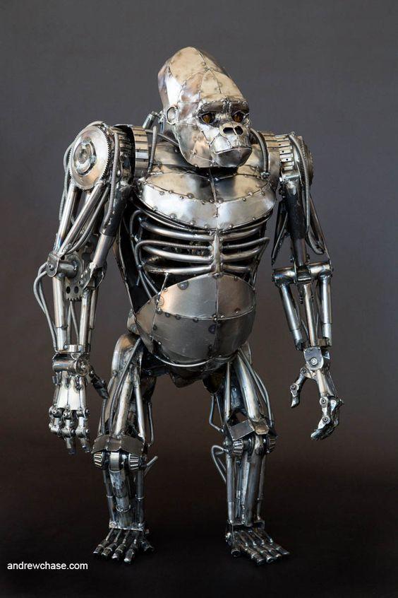 Mechanical sculptures clipart #19