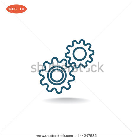 Mechanism Icon Vector. Mechanism Icon Jpeg. Mechanism Icon Picture.