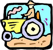 Tractor Clipart Vector Graphics. 19,799 tractor EPS clip art.