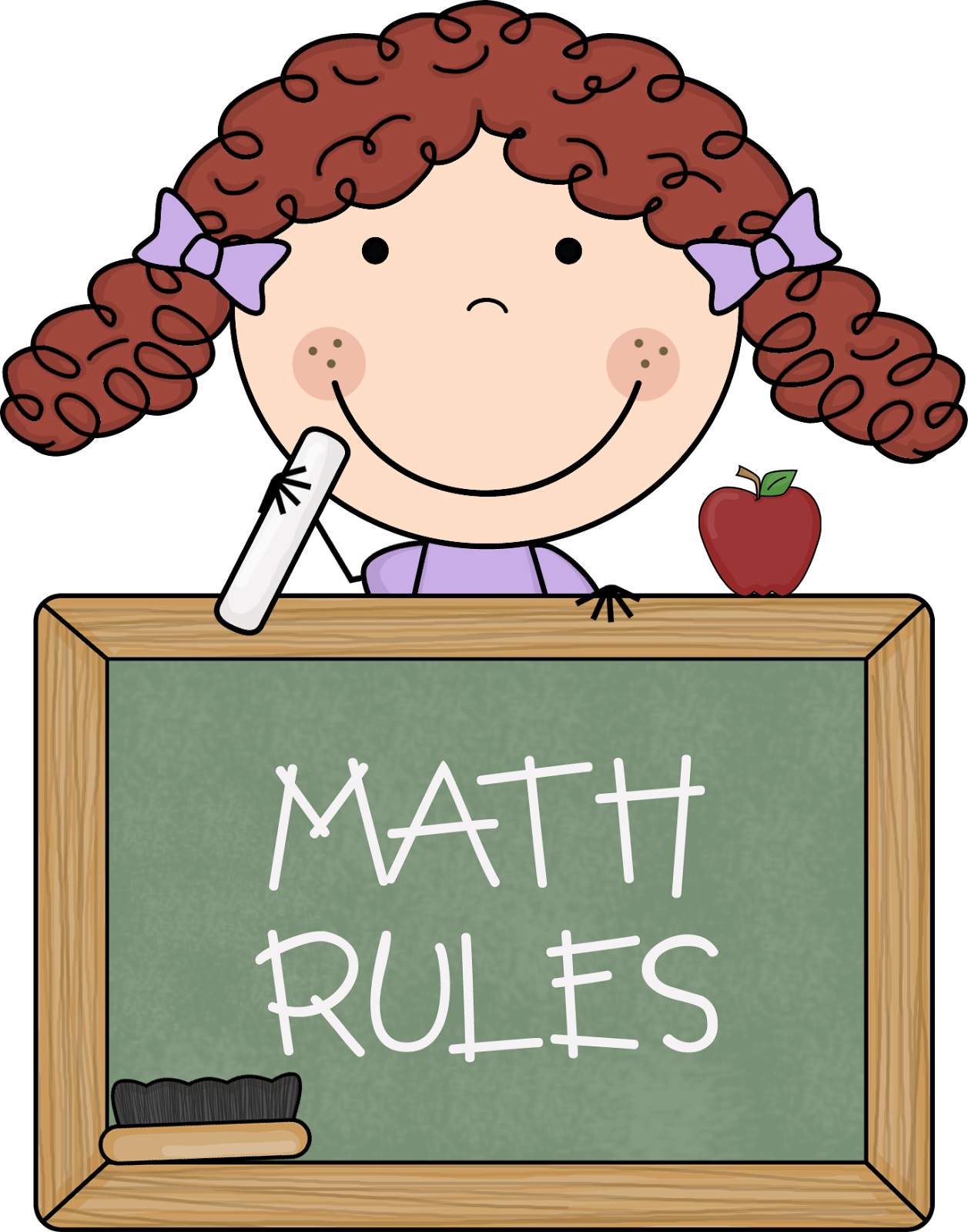 I Love Math Clipart.