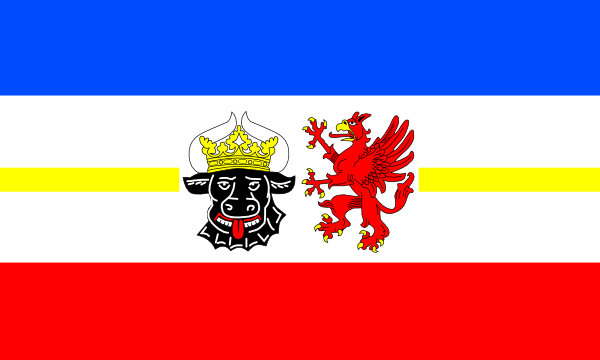 Flag Of Mecklenburg West Pomerania clip art Free Vector / 4Vector.