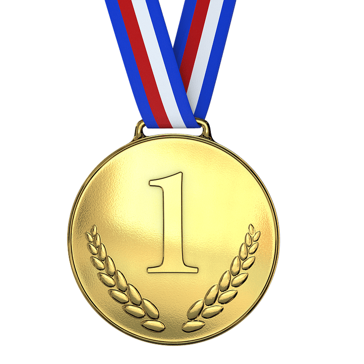 Médaille d'Or Premier PNG transparents.