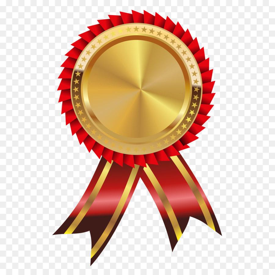 Gold Medaille Clip art.