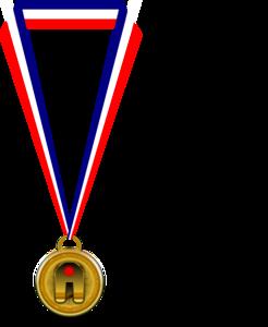 Clip art medal.