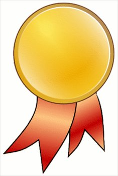 Gold Star Medal Clipart.