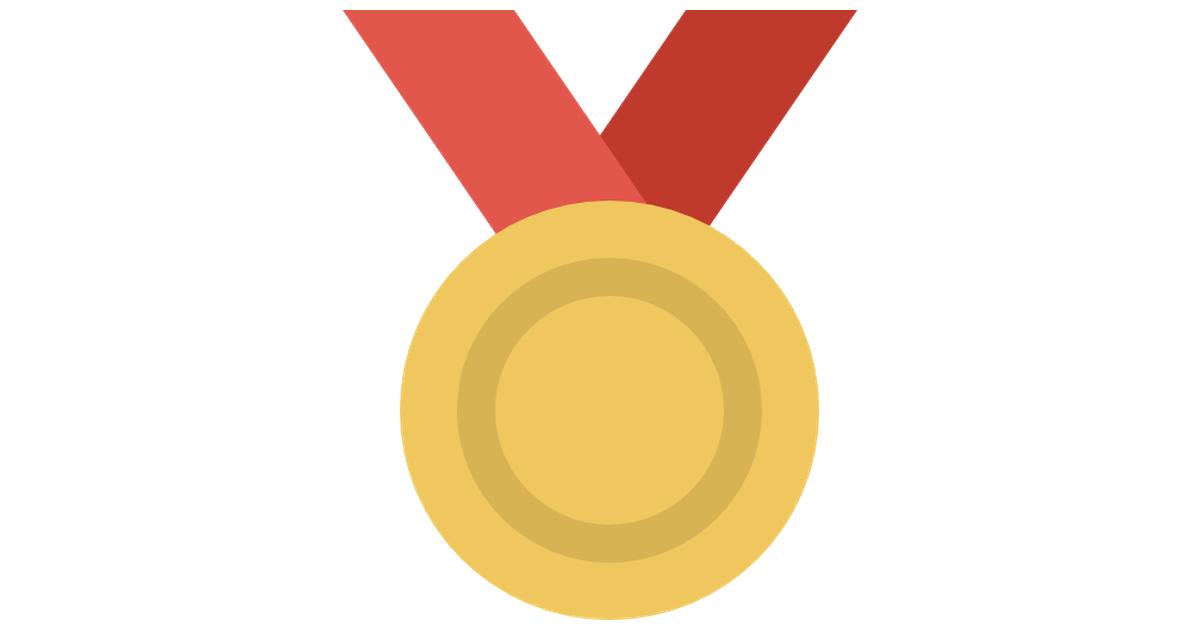 Gold medal.
