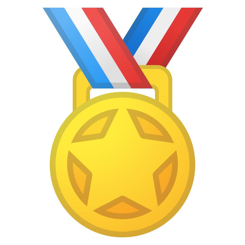 Sports medal Icon.