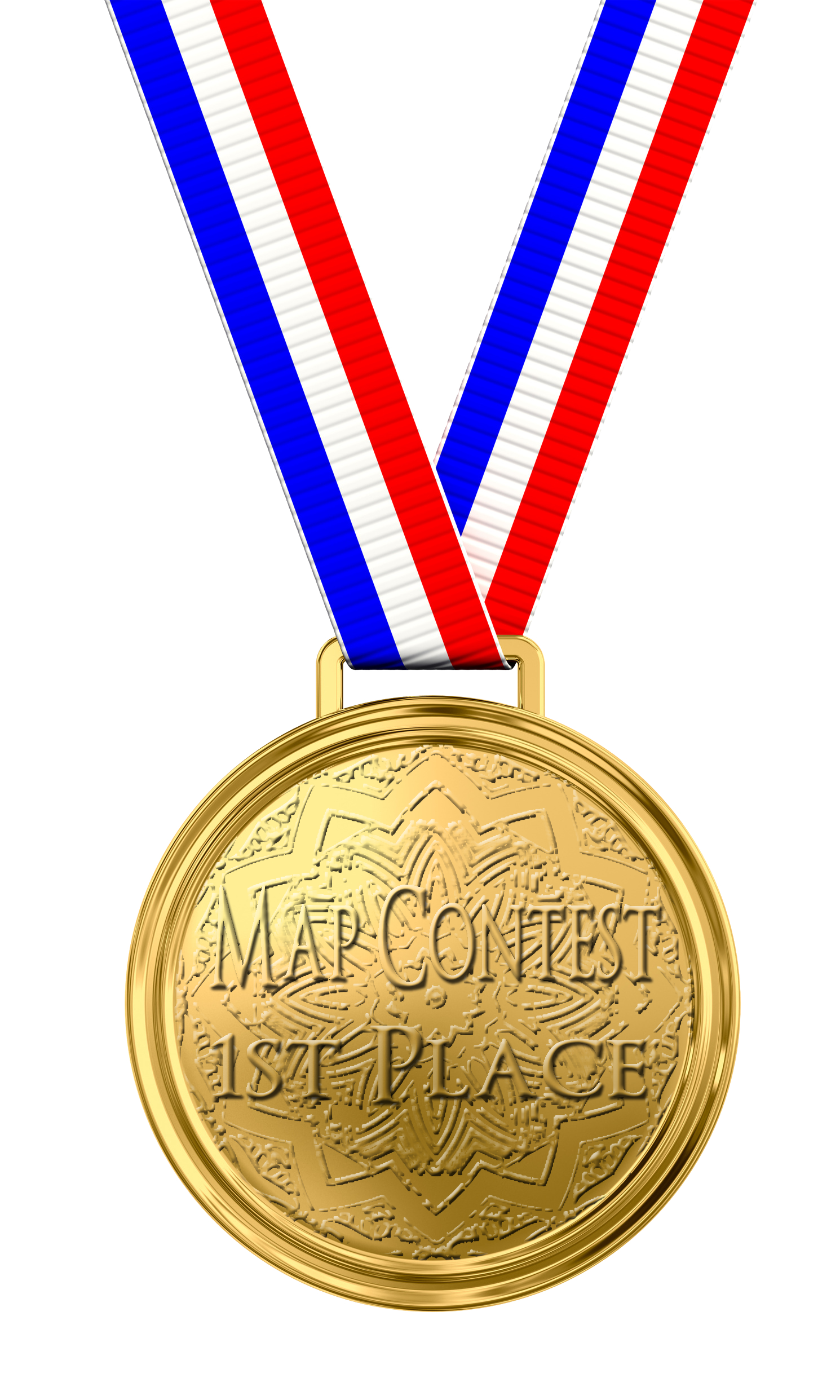 1st Place Medal PNG Image.