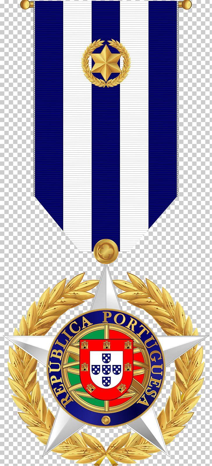 Gold Medal Military Heraldry Medalha De Mérito Militar PNG.
