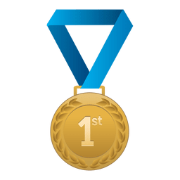 PNGs transparentes de medalha.