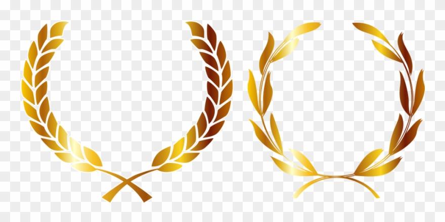 Medalla De Oro Corona La Corona De Laurel.