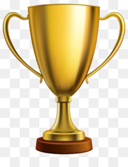 Trofeo medalla de Oro Clip art.