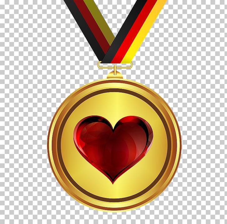 Medalla de oro premio medalla de honor, medalla PNG Clipart.