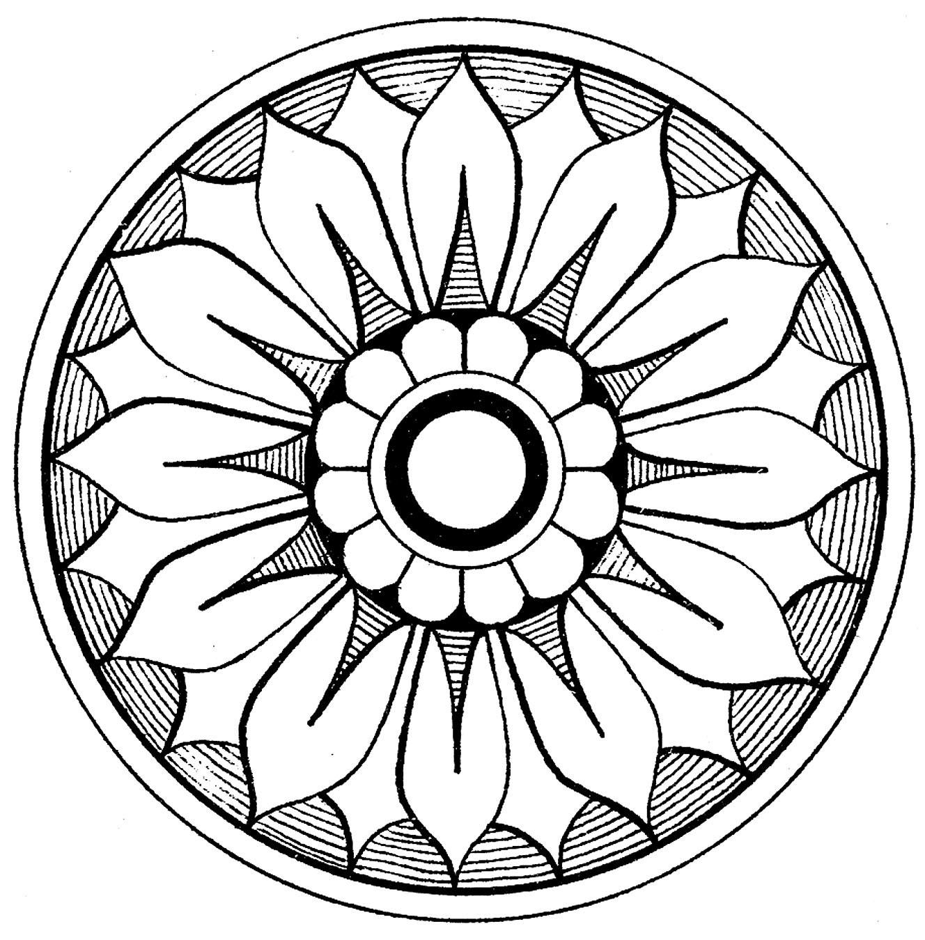 12 Medallion Clip Art!.
