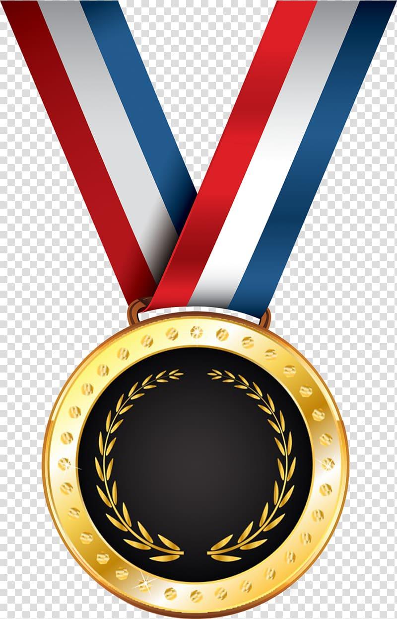 Ribbon Award Medal , ribbon transparent background PNG.