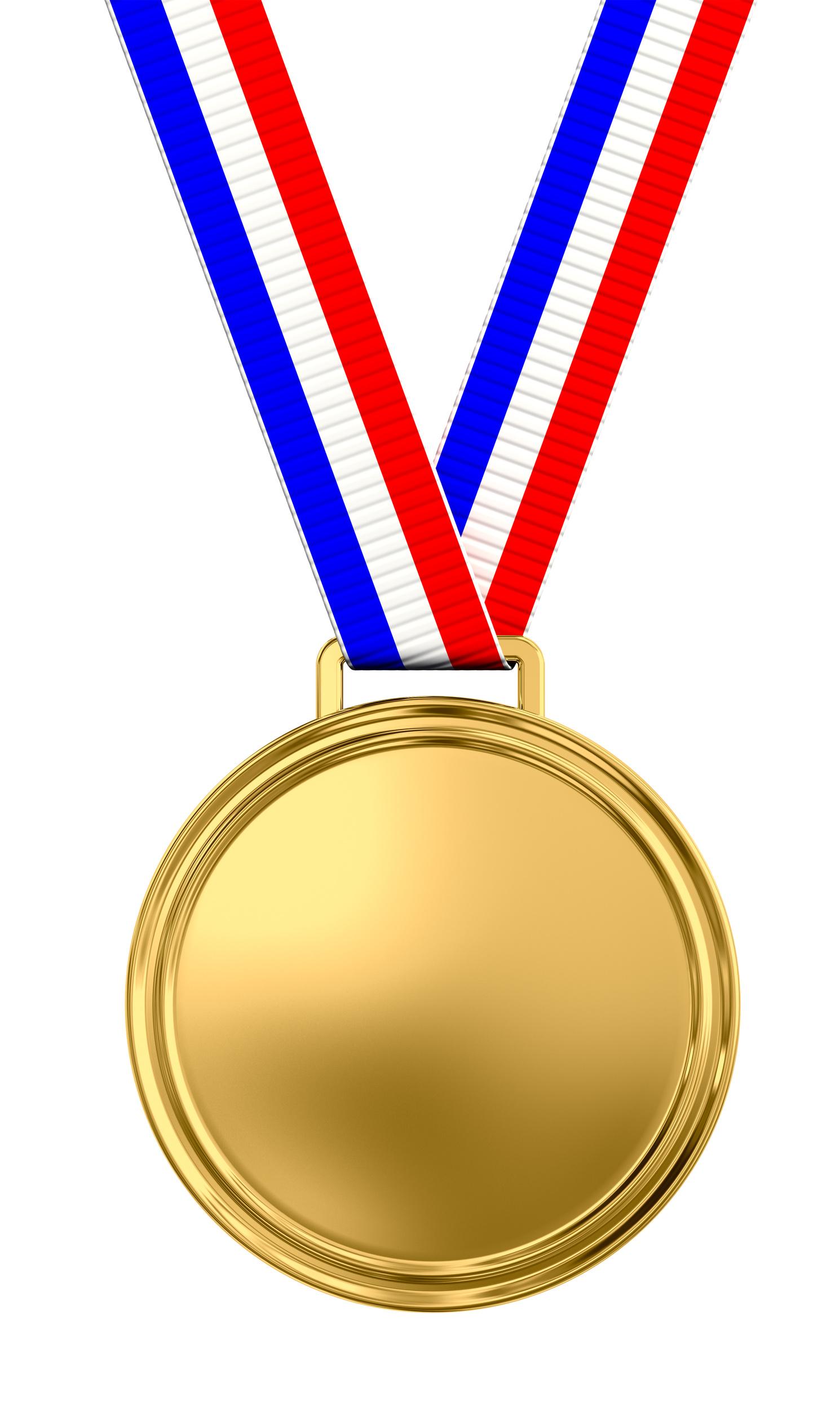 Medal Clipart Vector.