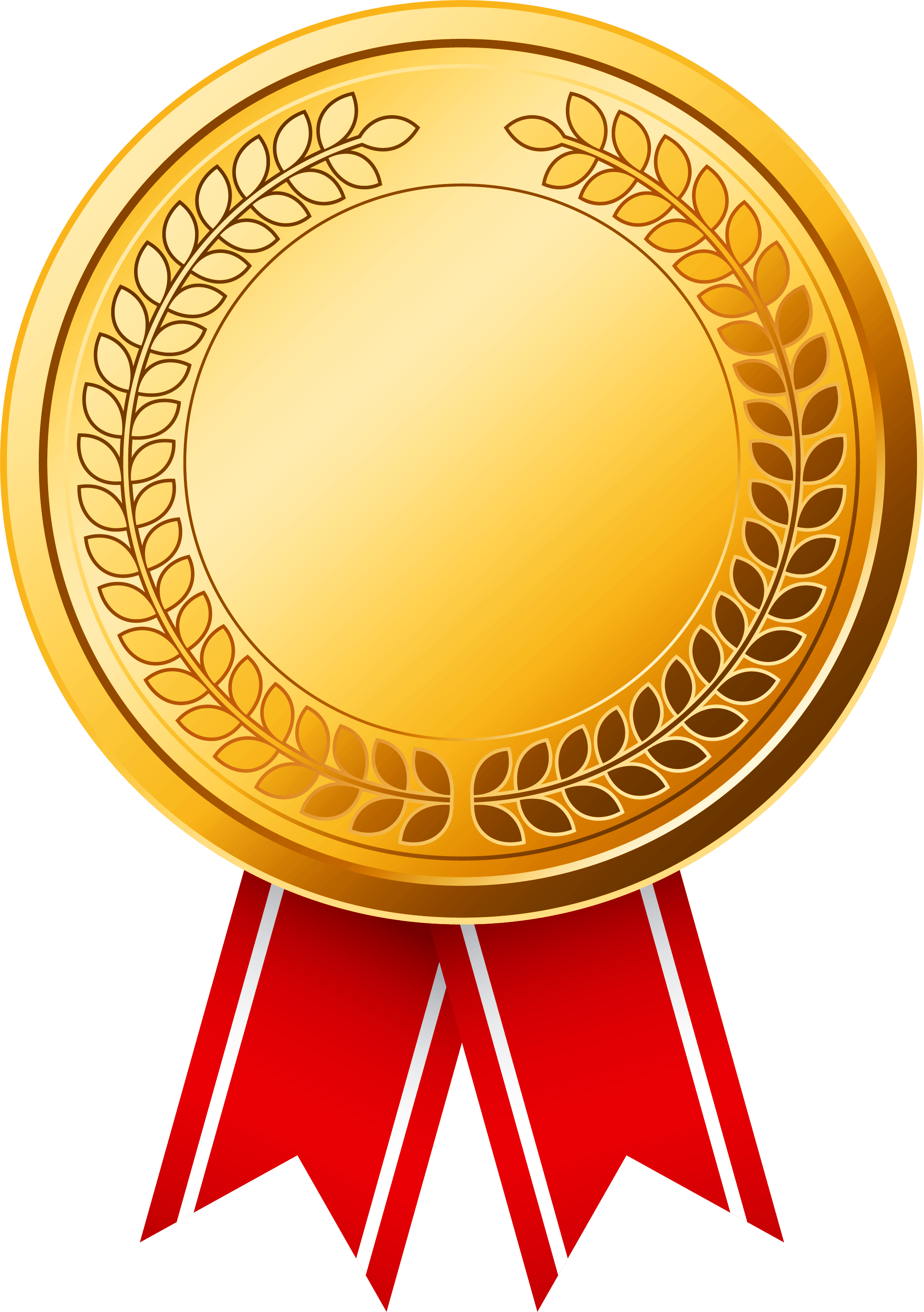 Medal PNG, Gold Medal, Olympic Medals, Medal Ribbon Clipart.