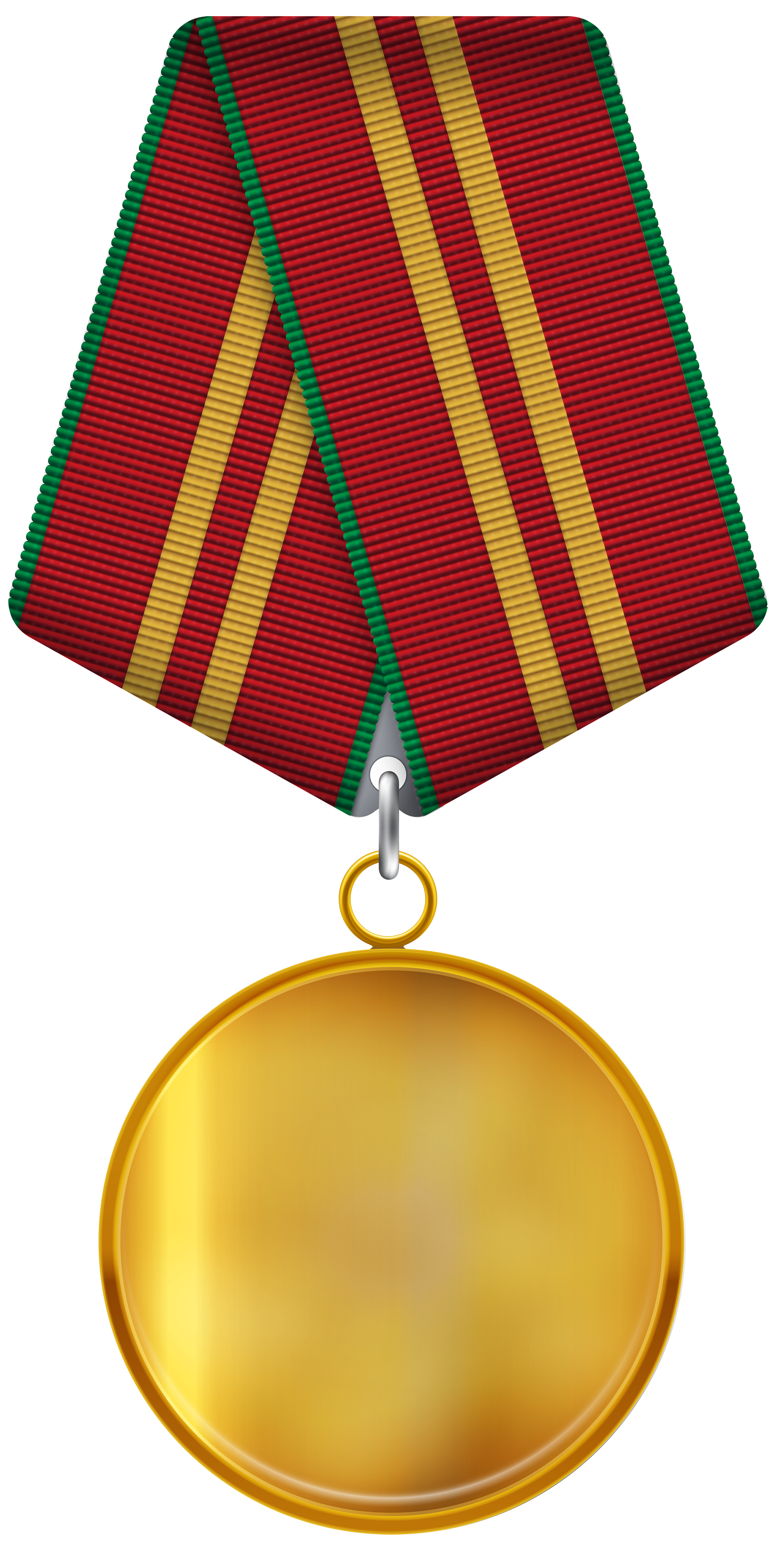 Medal Free PNG Clip Art Image.