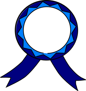 Blue And White Medal Clip Art at Clker.com.