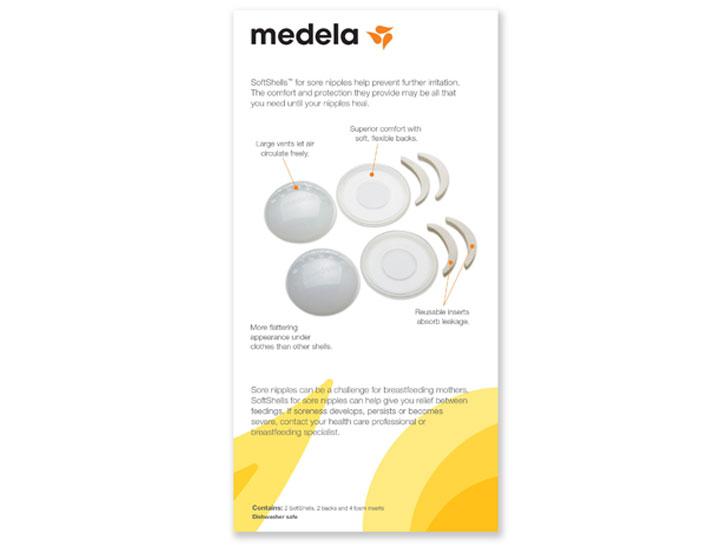 SoftShells™ for Sore Nipples.