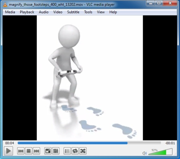 Footsteps Clipart And Animations For PowerPoint.