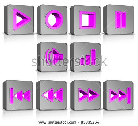 Metal Cubes Buttons Audio.