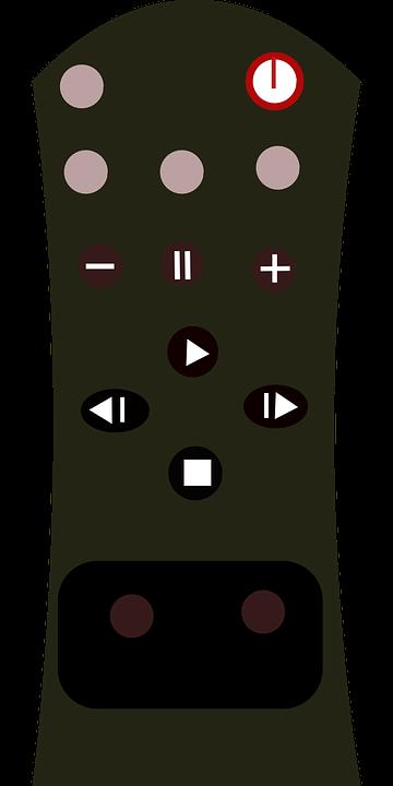 Free vector graphic: Remote Control, Tv, Controller.